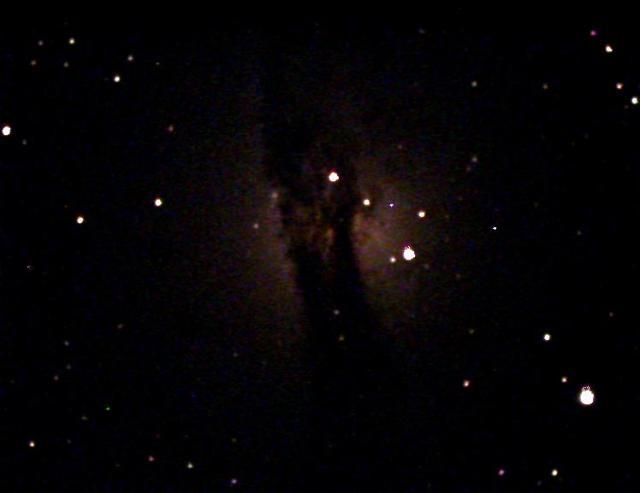 Si piden turno en el telescopio remoto pueden ver esto