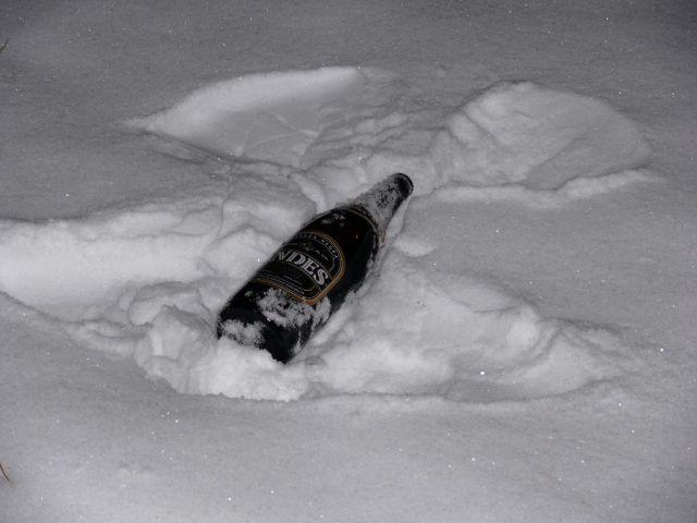 angelito de cerveza, costumbre del norte