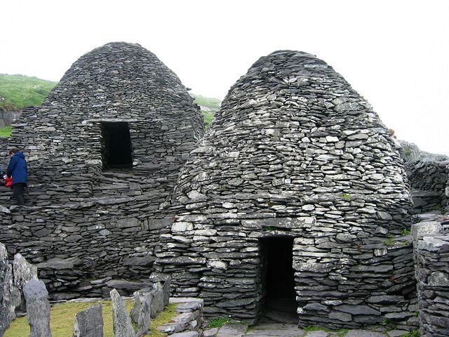 Construcciones alrededor de templo
