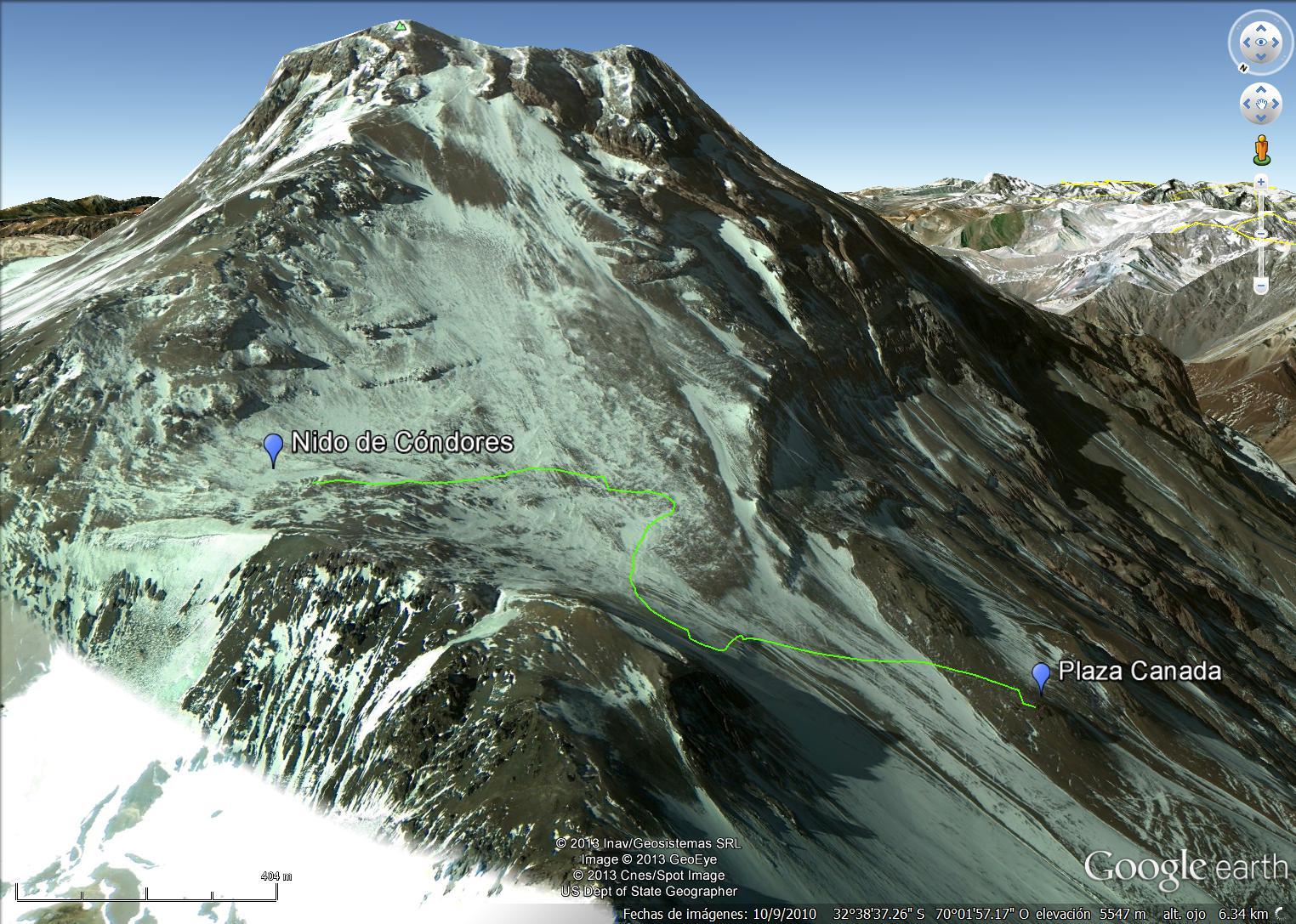 Cerro #20: Aconcagua, 6962m (Δd=4008m)   Animal de Ruta