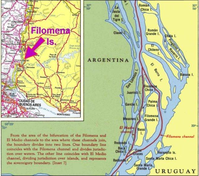 Isla Filomena enclave