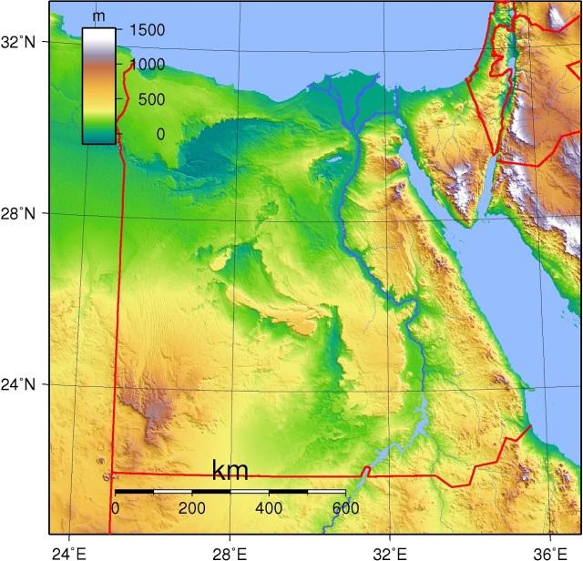 Egypt_Topography