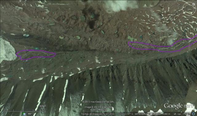 Nacientes río Mendoza