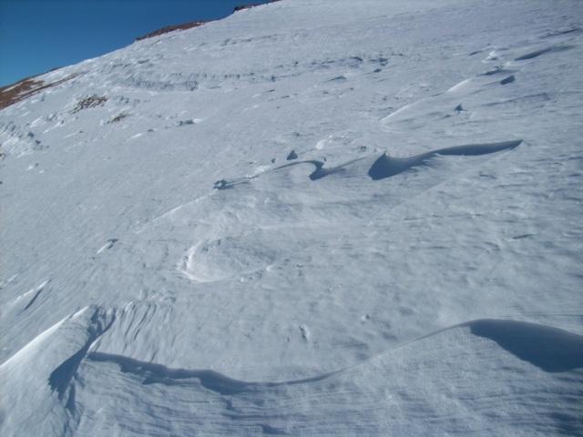 Nieve, mucha nieve para abrir (Click para agrandar)