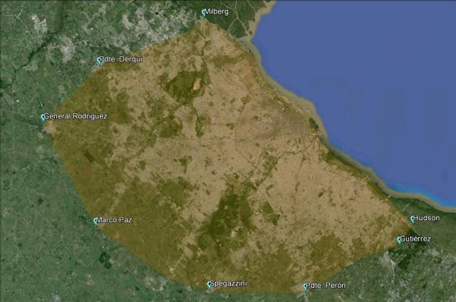 Argentina densidad