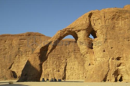 Elephant arch, Ennedi region, Chad