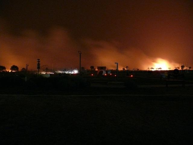 Incendio La Punta