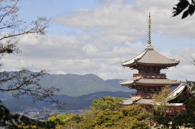 El Templo de Plata y Kioto al fondo