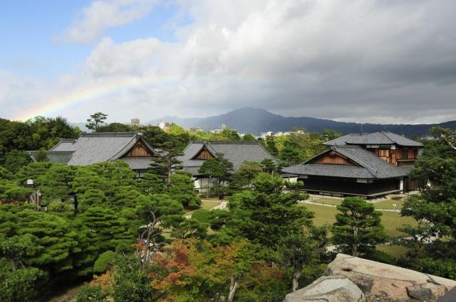 Palacio de Nijo-Jo, patrimonio mundial de la humanidad. Kyoto