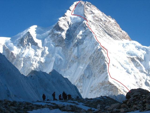 K2 north face