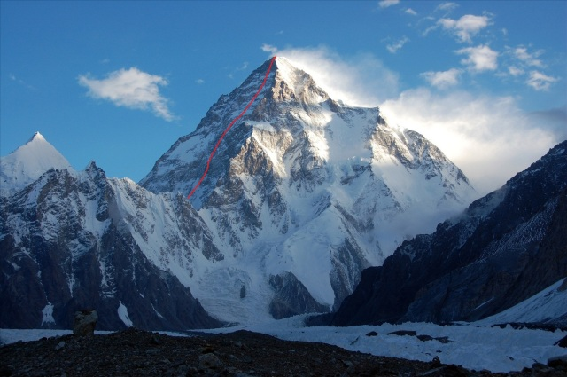 k2 Southwest face