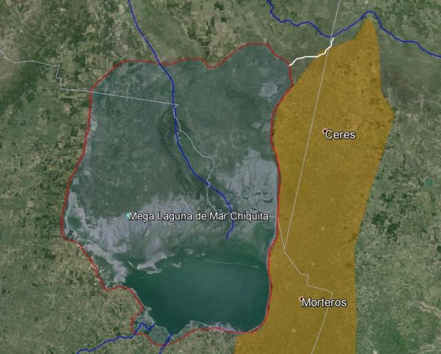Mega laguna de mar chiquita