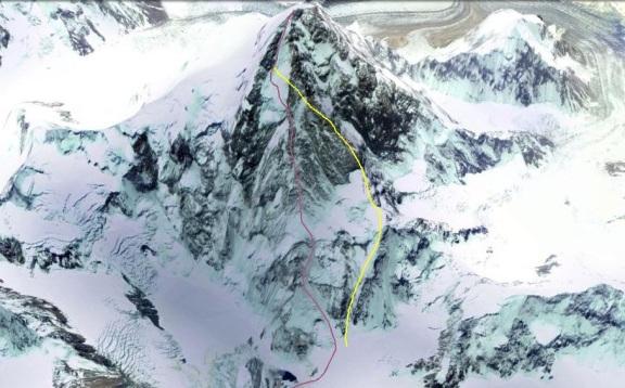 NW ridge K2