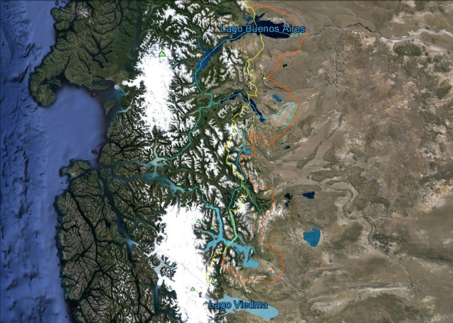 Zona Glaciares