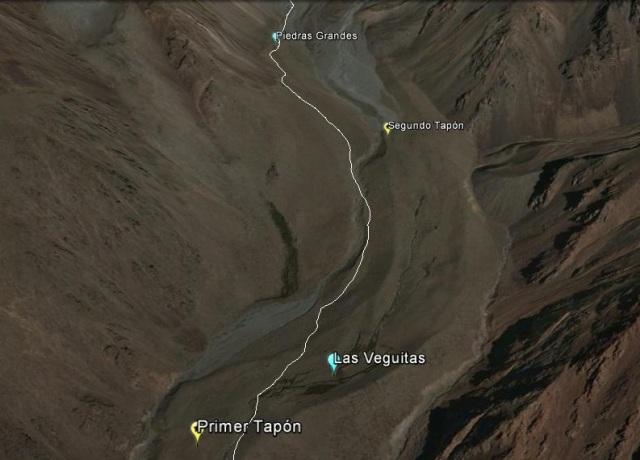 Segundo tramo entre Las Veguitas y Piedras Grandes