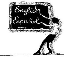 English Español Cartoon