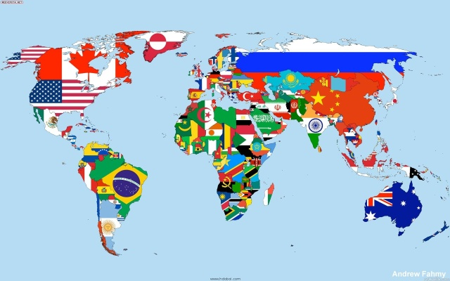 map-world-flag
