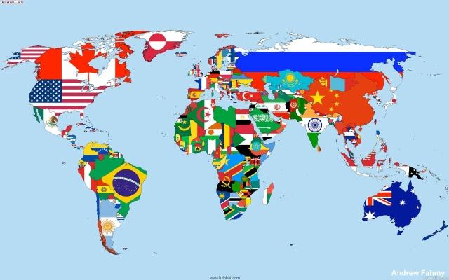 ¿Cuántos países hay en el mundo?