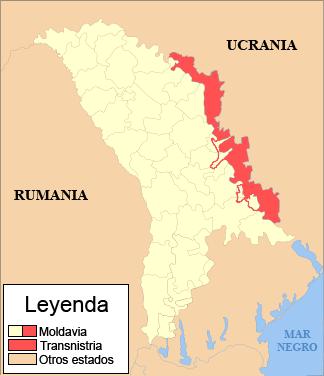 Transnistria-mapa