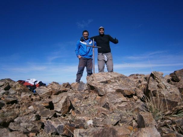 CIma cerro San Jorge