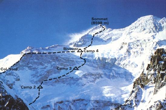 Kangchenjunga japanese route 1980