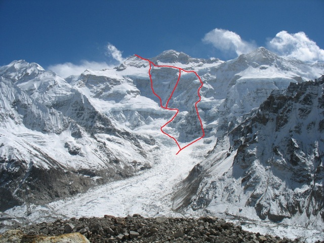 NW Face Kangchenjunga