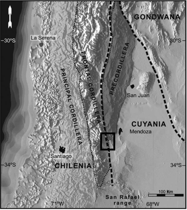 Provincias geológicas