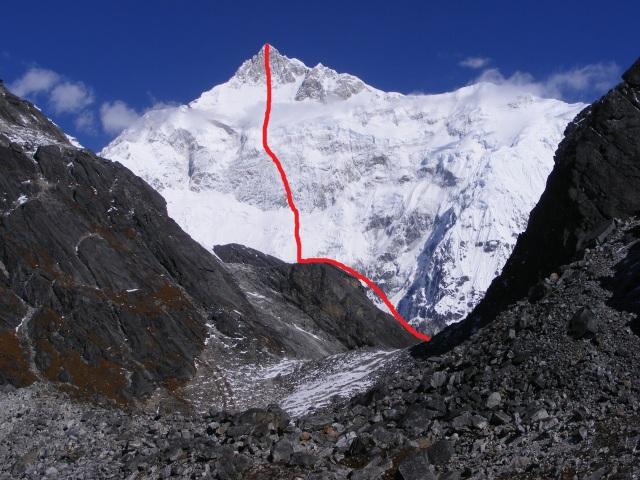 SE face Kangchenjunga 2
