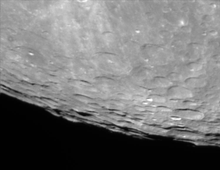 Una pequeña cantidad de fotos de la luna