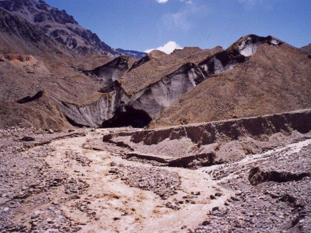 Las nacientes de los ríos Tunuyán, Atuel y Diamante