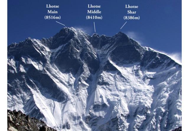 Las rutas de ascenso al Lhotse