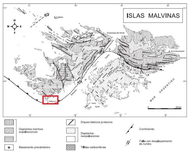 Geología Islas Malvinas