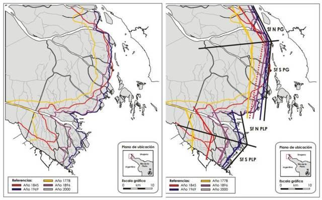 Evolución delta Paraná