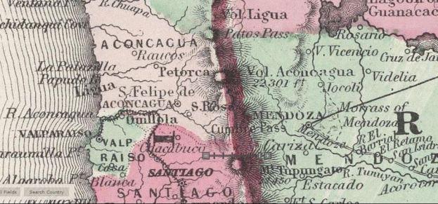 Cuando el Aconcagua era un volcán, en 1865