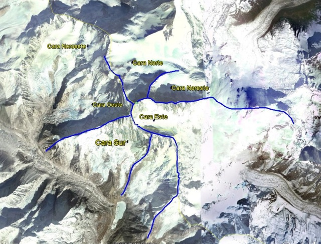 Makalu routes