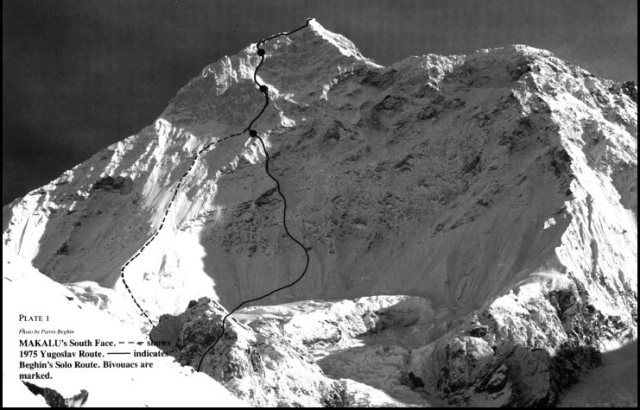 Makalu south face