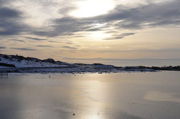 Hielo noruego congelado