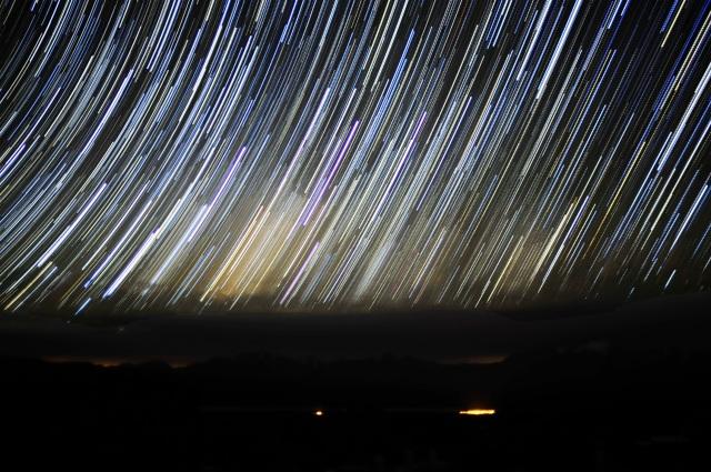 Galaxia startrail2
