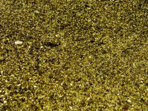 Si, otra foto de las arenas verdes porque estoy fascinado