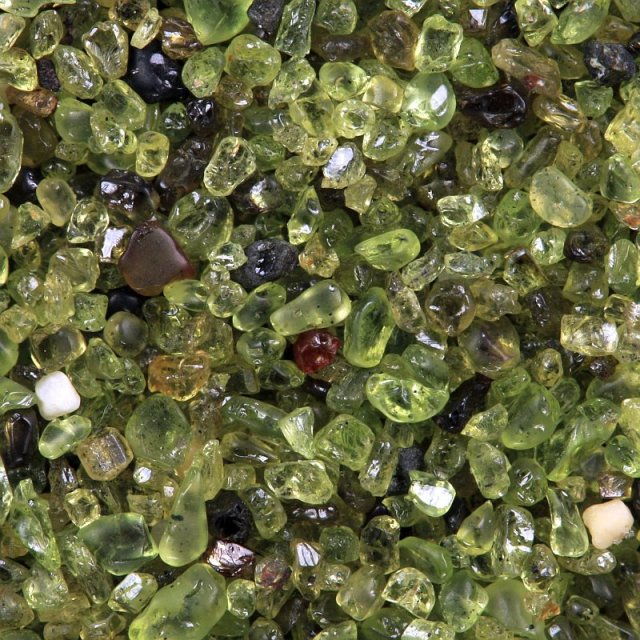 Papakolea-olivine-sand