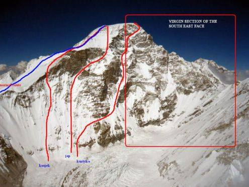 Cho Oyu future route face