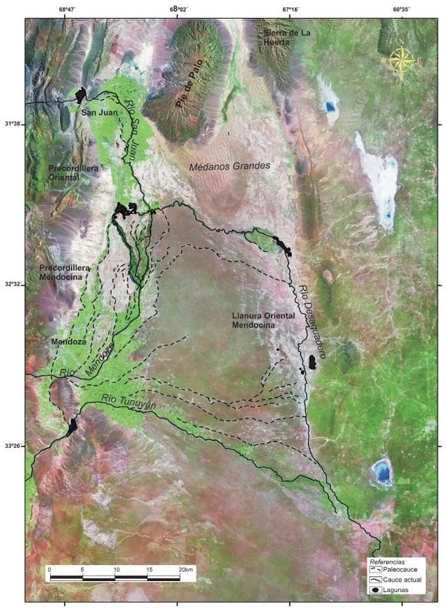 Paleocauce río Mendoza