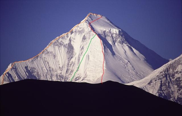 Dhaulagiri SE Ridge